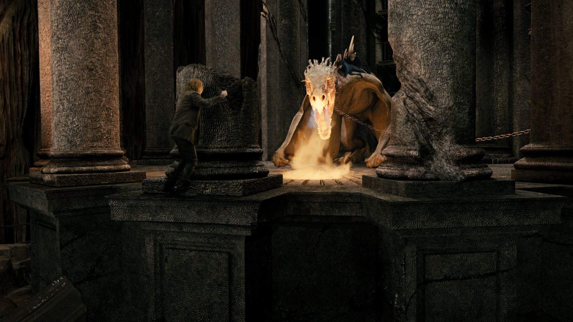 Image from Harry Potter and the Escape from Gringotts - 60-foot, fire-breathing Ukrainian Ironbelly Dragon