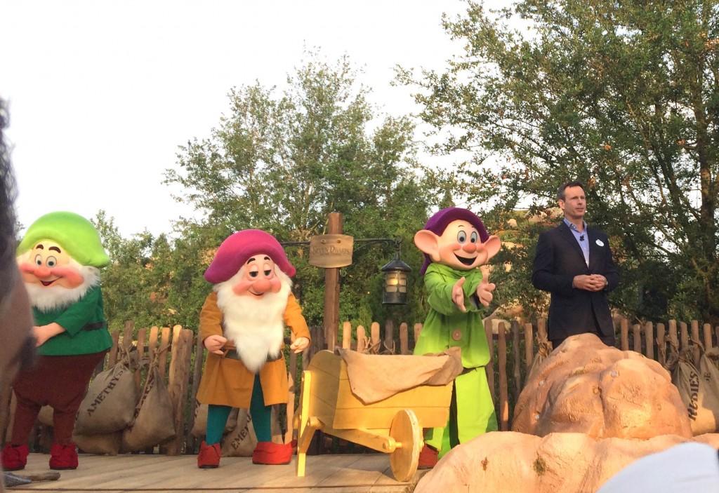 Seven Dwarfs Mine Train Opening Date Dedication