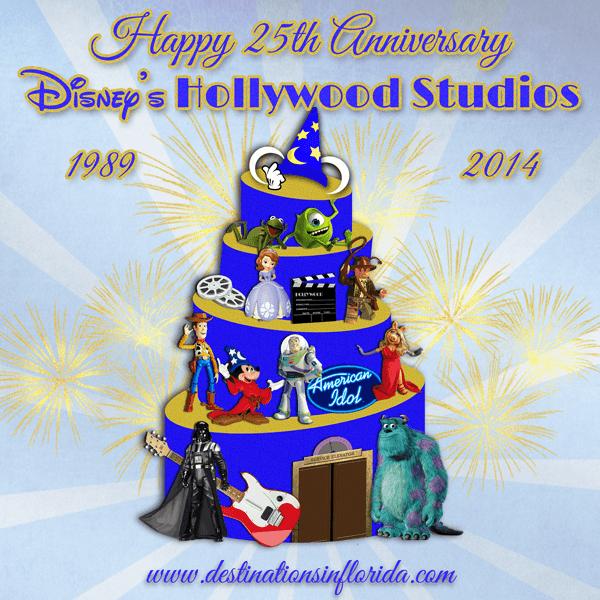 Disney's Hollywood Studios 25th Anniversary