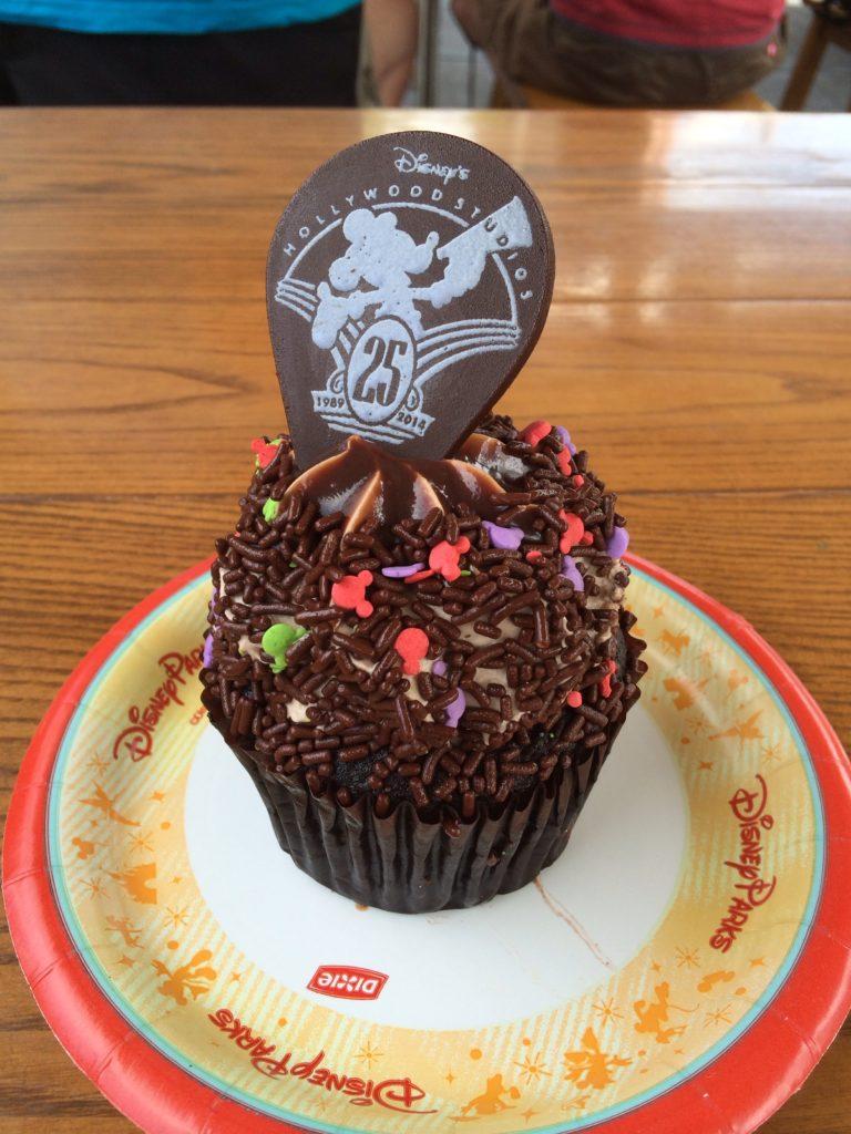 Disney's Hollywood Studios 25th Anniversary Cupcake