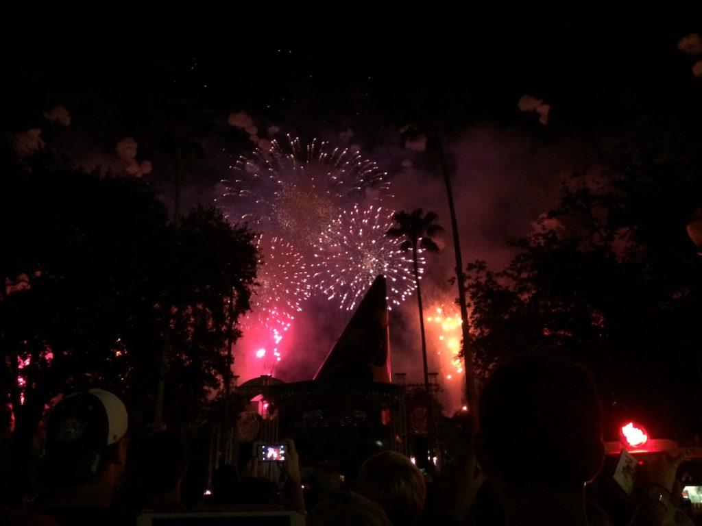 Disney's Hollywood Studios 25th Anniversary Fireworks