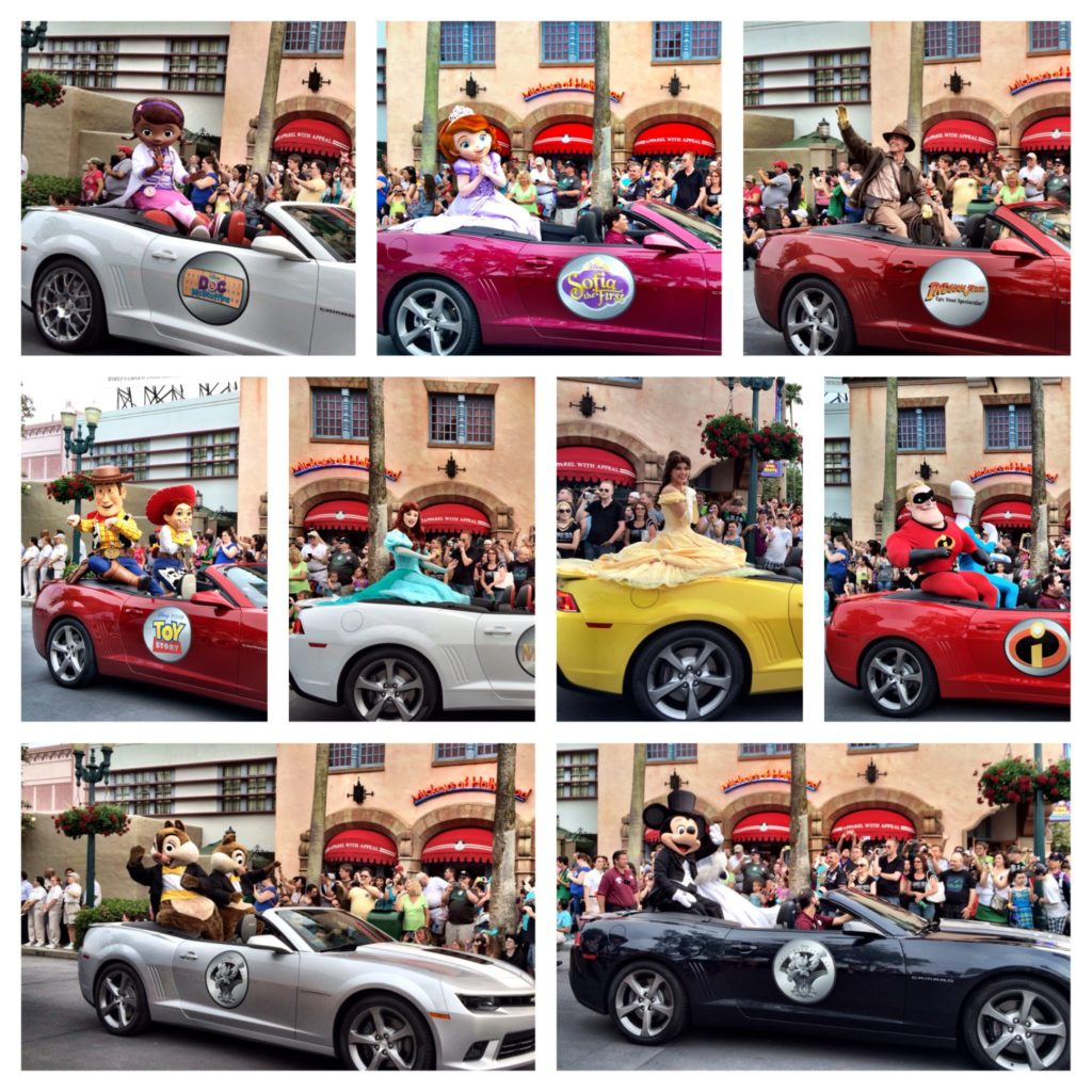 Disney's Hollywood Studios 25th Anniversary Parade