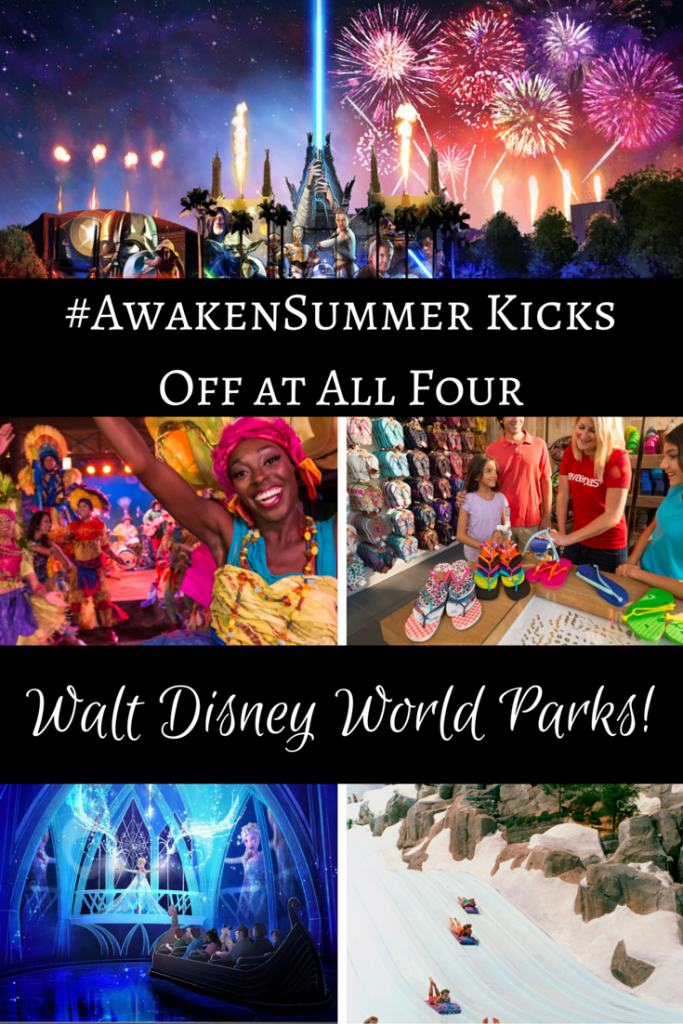 Walt Disney World Resort Launches Summer Vacation Season with Magical Premieres in All Four Parks