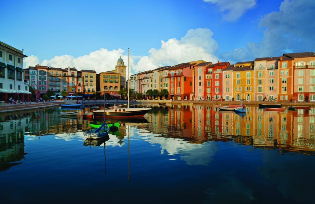 Advertising Resorts Shoot at Loew's Portofino Bay Hotel at Universal Orlando Resort UOR PBH