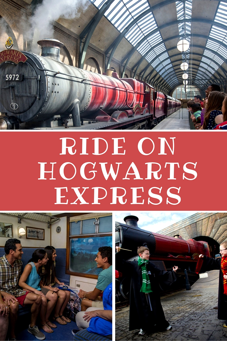 All Aboard The Hogwarts Express