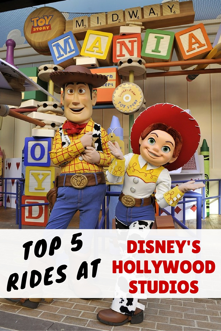 Top 5 Rides At Disney S Hollywood Studios