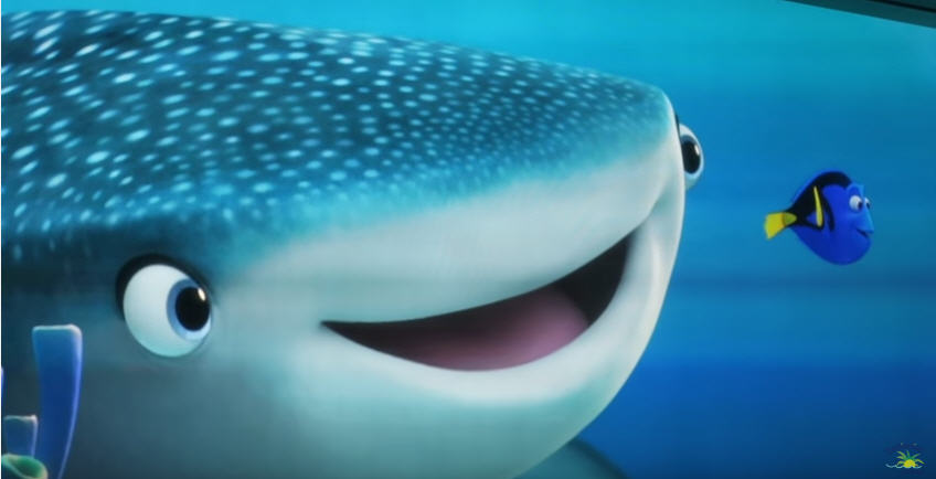 finding dory turtle talk