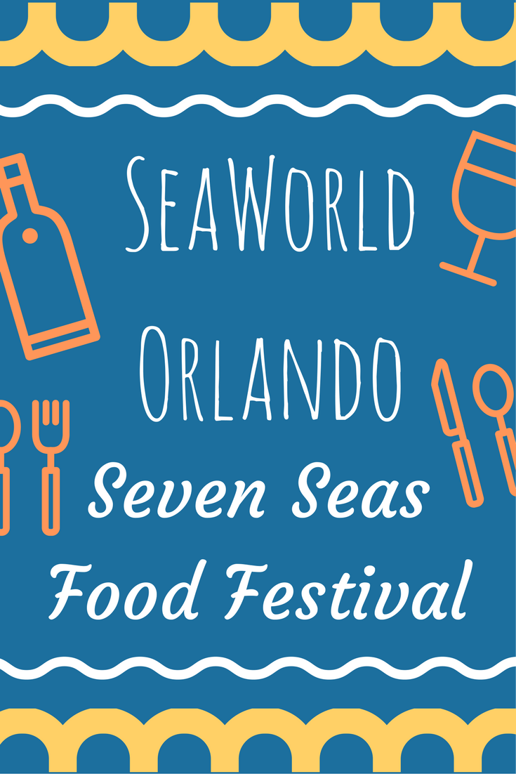 Food & Entertainment at Seven Seas Food Festival SeaWorld Orlando