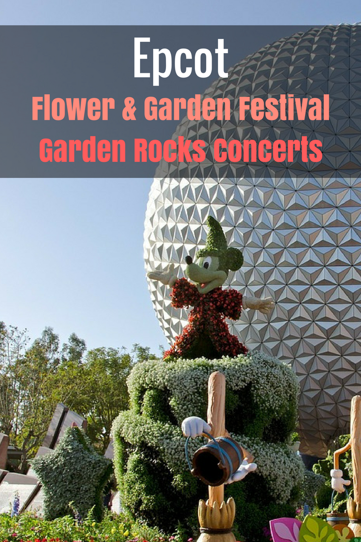 Epcot Flower And Garden Festival Garden Rocks Concerts