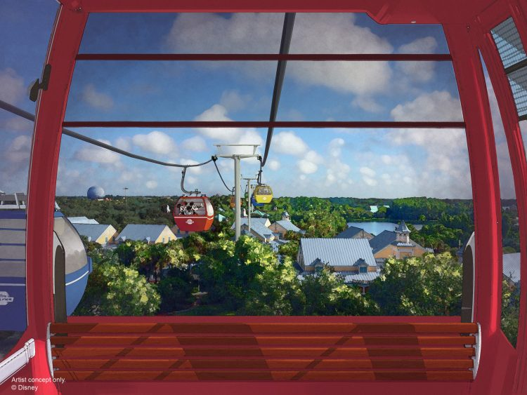 Disney Vacation Club announces next planned developments for Disney World, including a new resort and skyway gondola connecting the Parks to resorts.